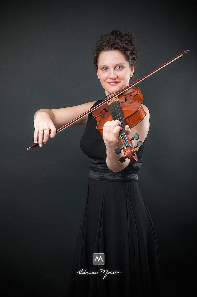 Fetele din cvartetul Mezzo Iasi, fotografie profesionala de studio
