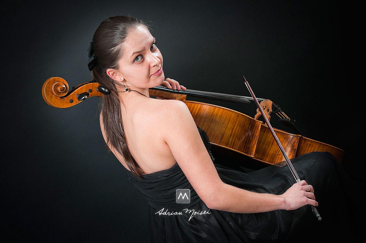 La violoncel