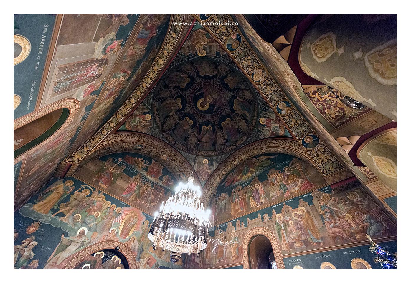 Biserica Sfântul Nicolae Domnesc Iasi, interior ultrawide de Adrian Moisei