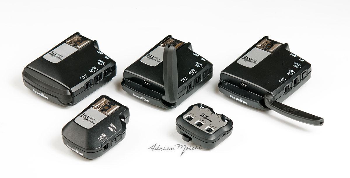 Pocket Wizard mini TT1, Flex TT5, si AC3 - fotografie studio Adrian Moisei