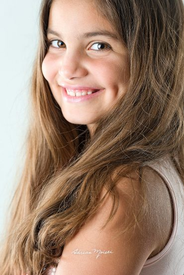 Portret de fetiță la 8 ani Iași – Alexandra & Portret