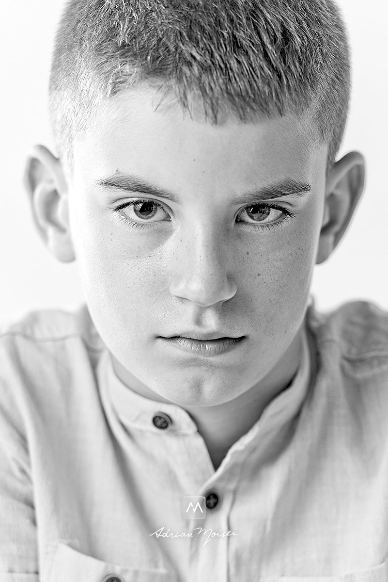 Portret de copil, fotograf Iasi