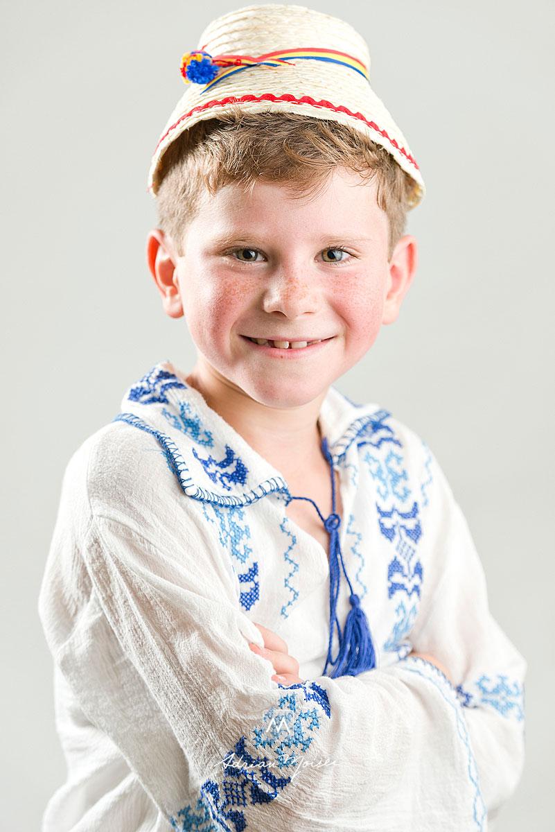 Copilas cu clop, portret realizat de fotograful iesean Adrian Moisei