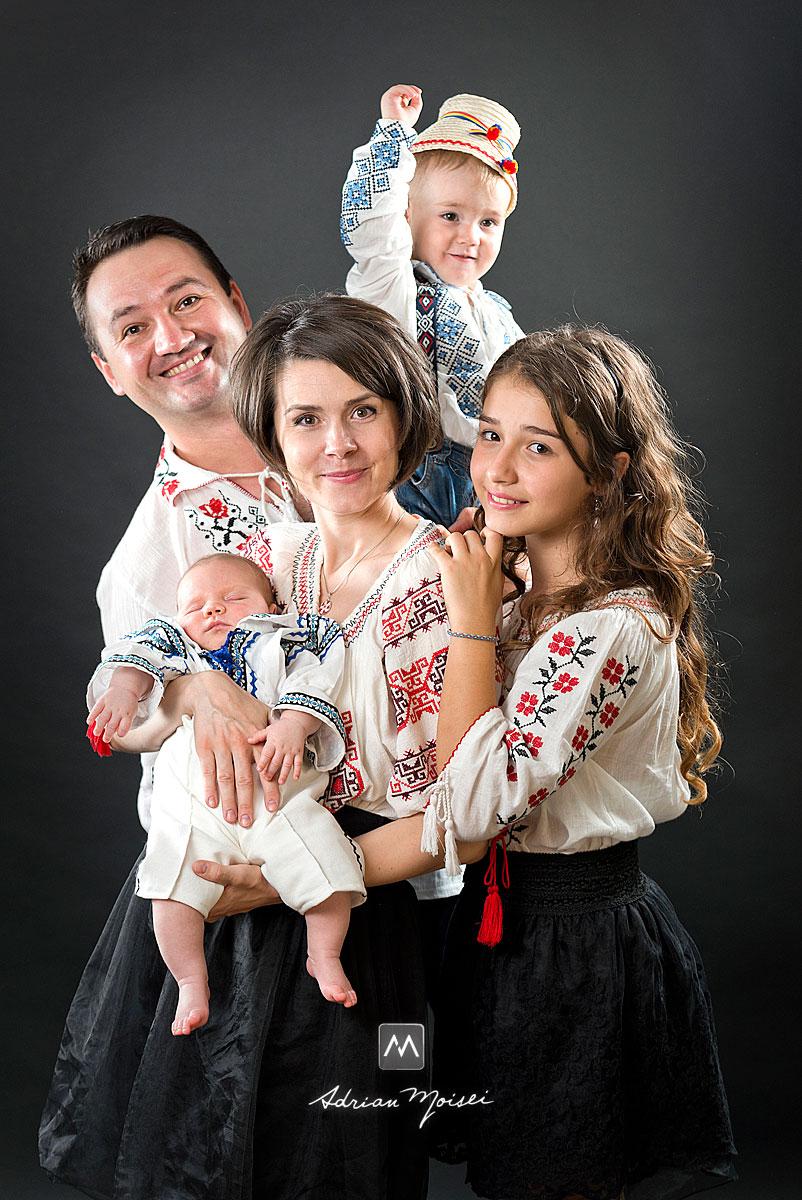 Fotografie de familie realizata de Adrian Moisei