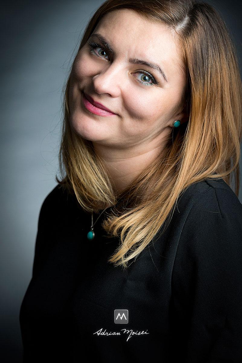 Fotograful iesean Adrian Moisei, fotografie de portret
