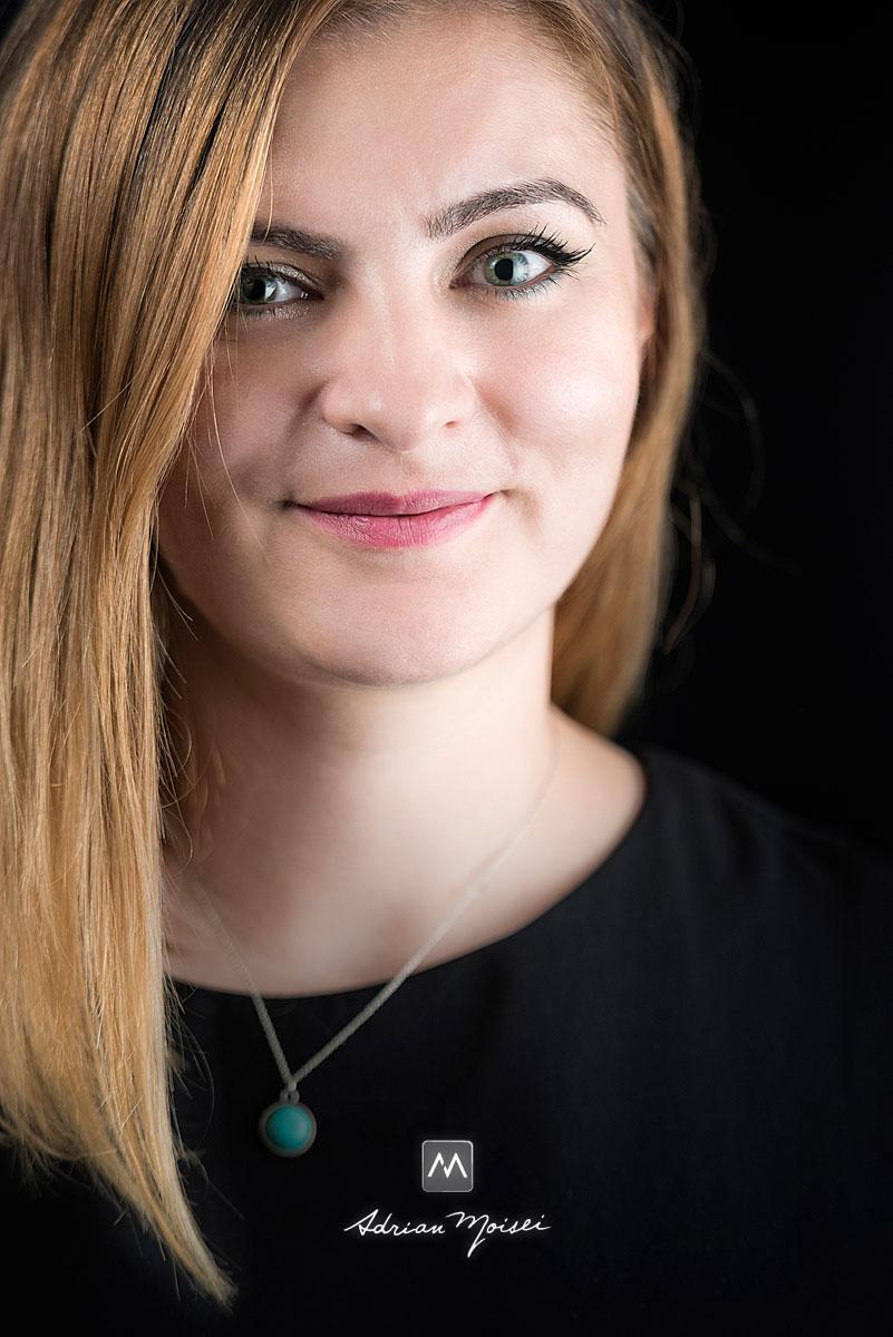 Portret foto de femeie