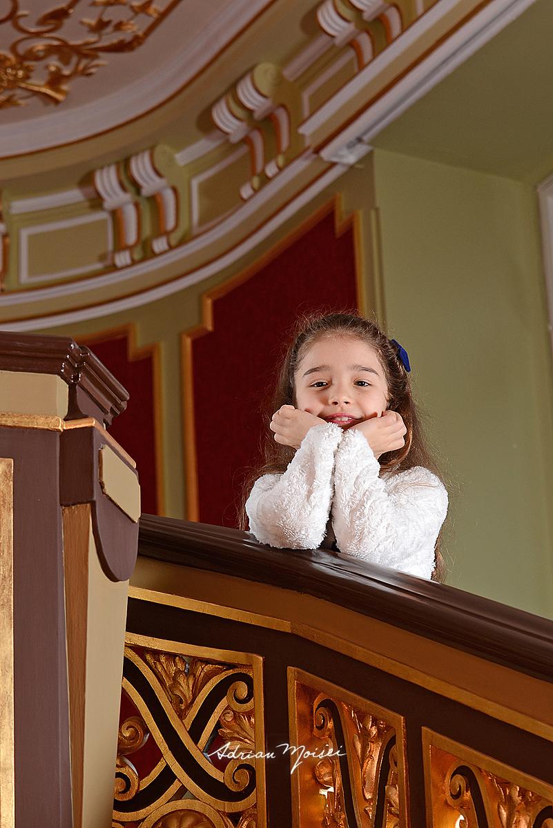Tanara cantareata la Teatrul National Iasi, fotografie de portret