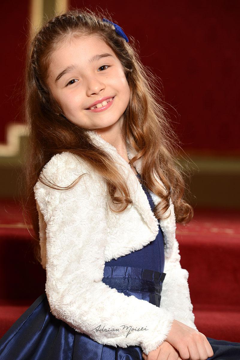 Portret de fetita realizat de fotograf Iasi Adrian Moisei