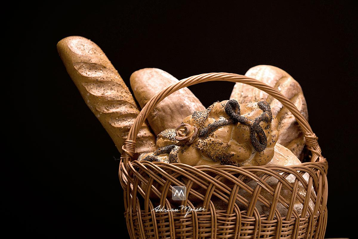 Cos de paine,  fotografie de produs Iasi, fotograf iasi.