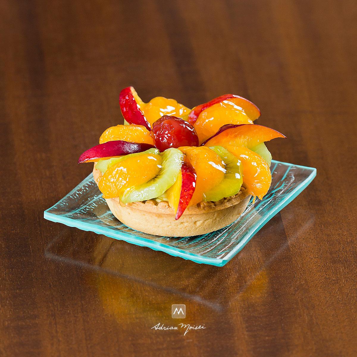 Tarta cu fructe, fotograf Iasi