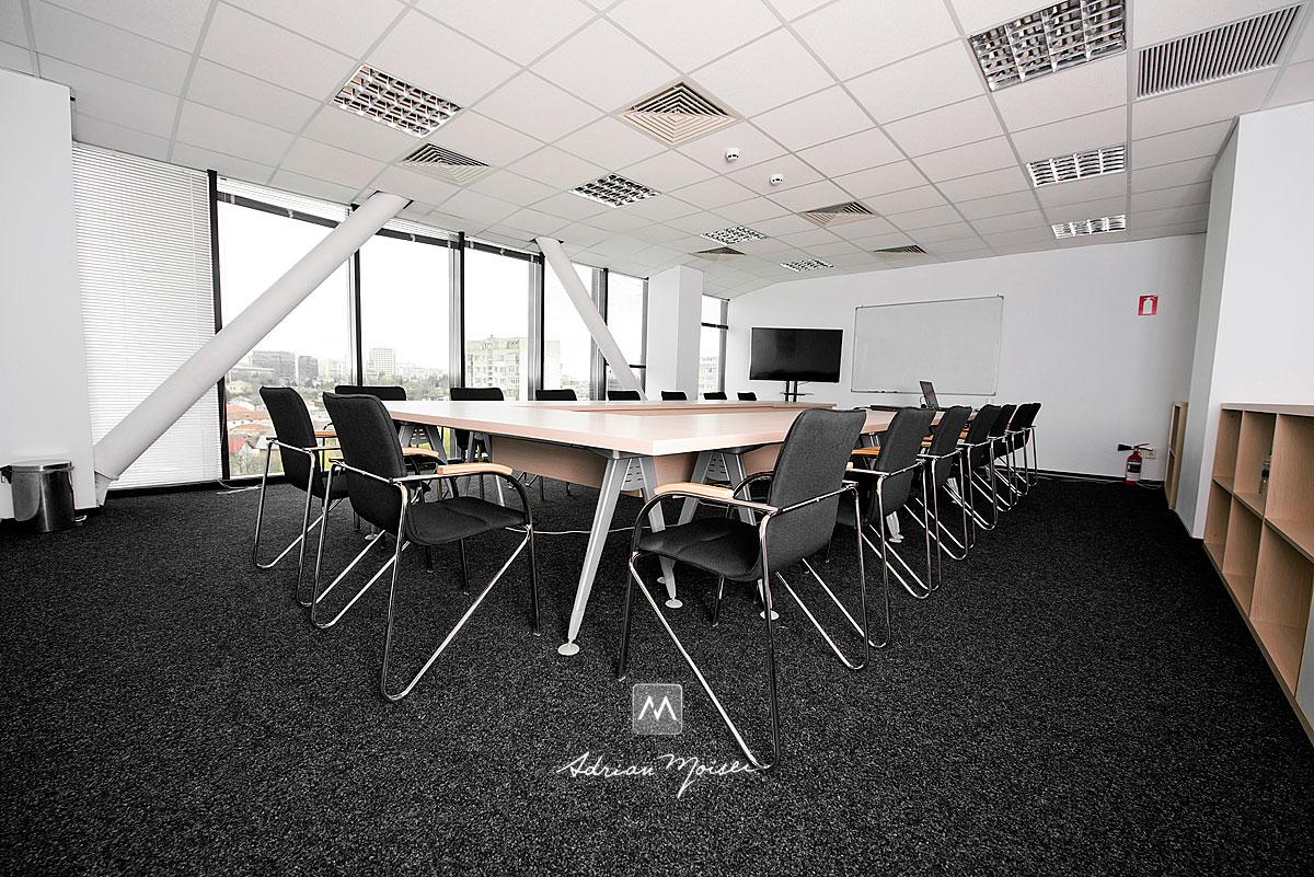Sala de conferinte la Sandru Office Building, fotograf Iasi, Adrian Moisei