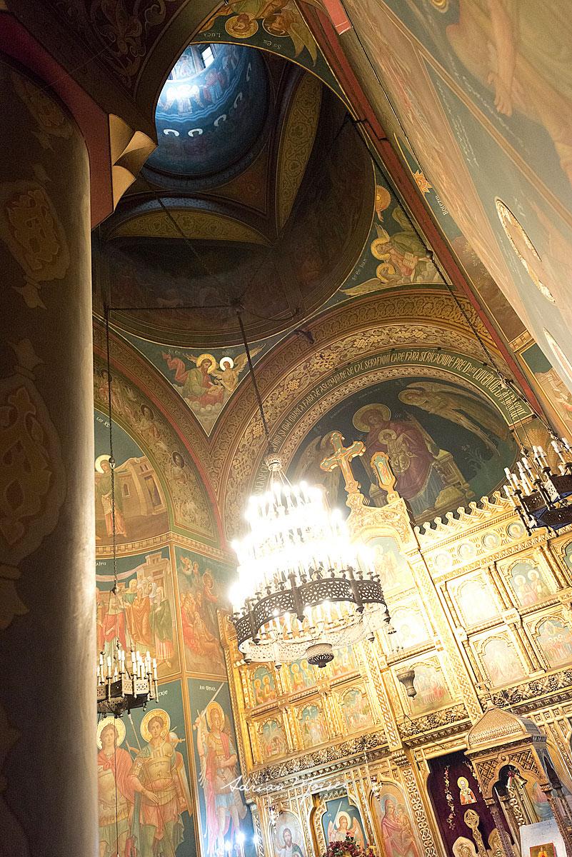 Fotografie botez Iași - biserica Sfântul Nicolae Domnesc