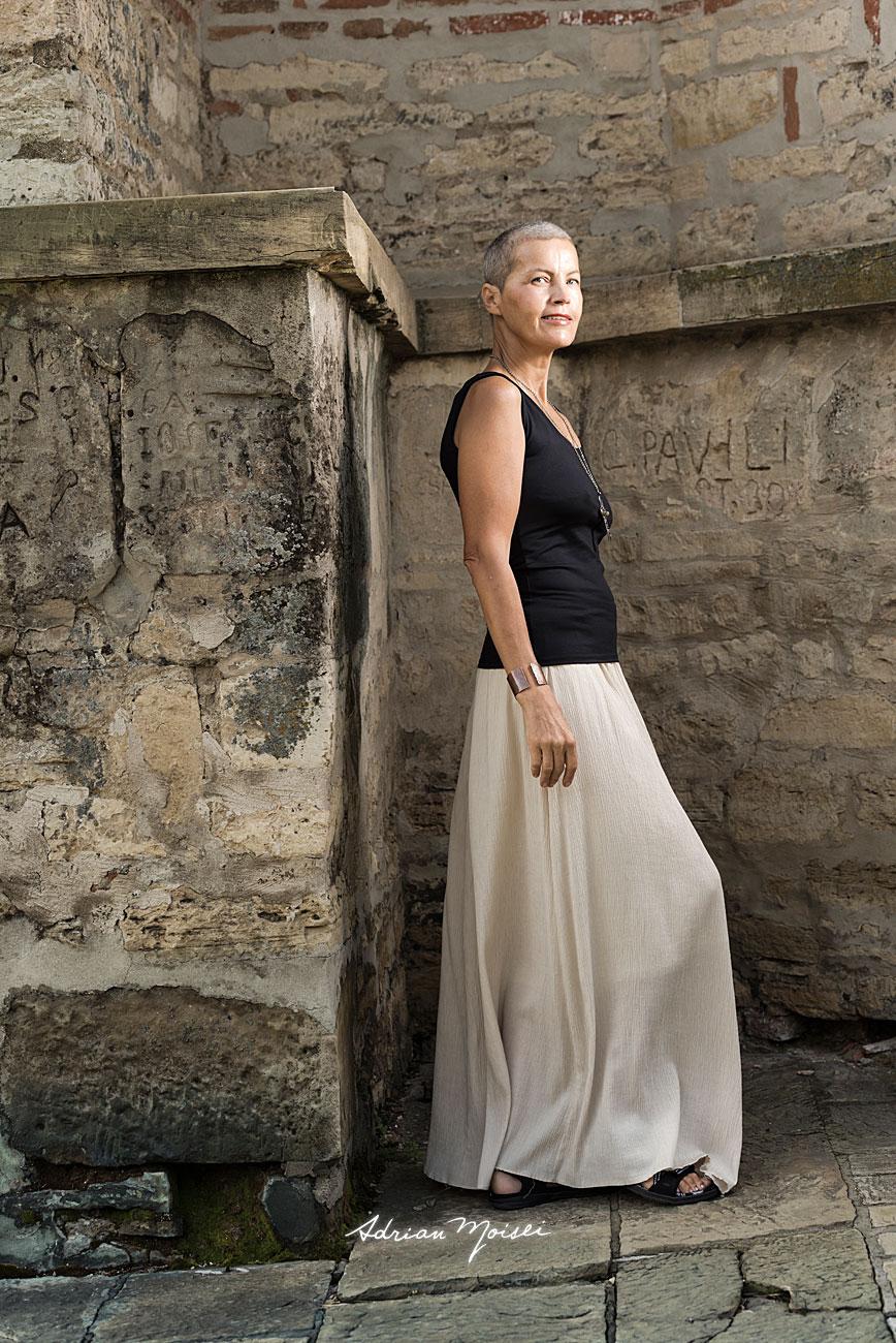 Fotografie de portret la mănăstirea Galata, fotografie în natură
