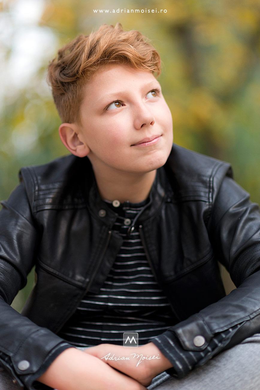 Fotografie de portret realizata de artistul fotograf Adrian Moisei, fotograf de familie Iași