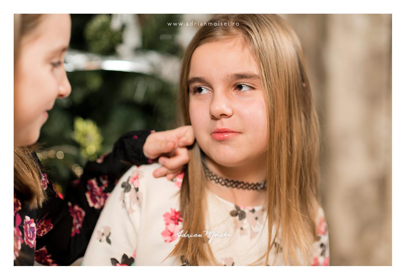 Sesiune foto de Craciun, fotografie de familie Iași