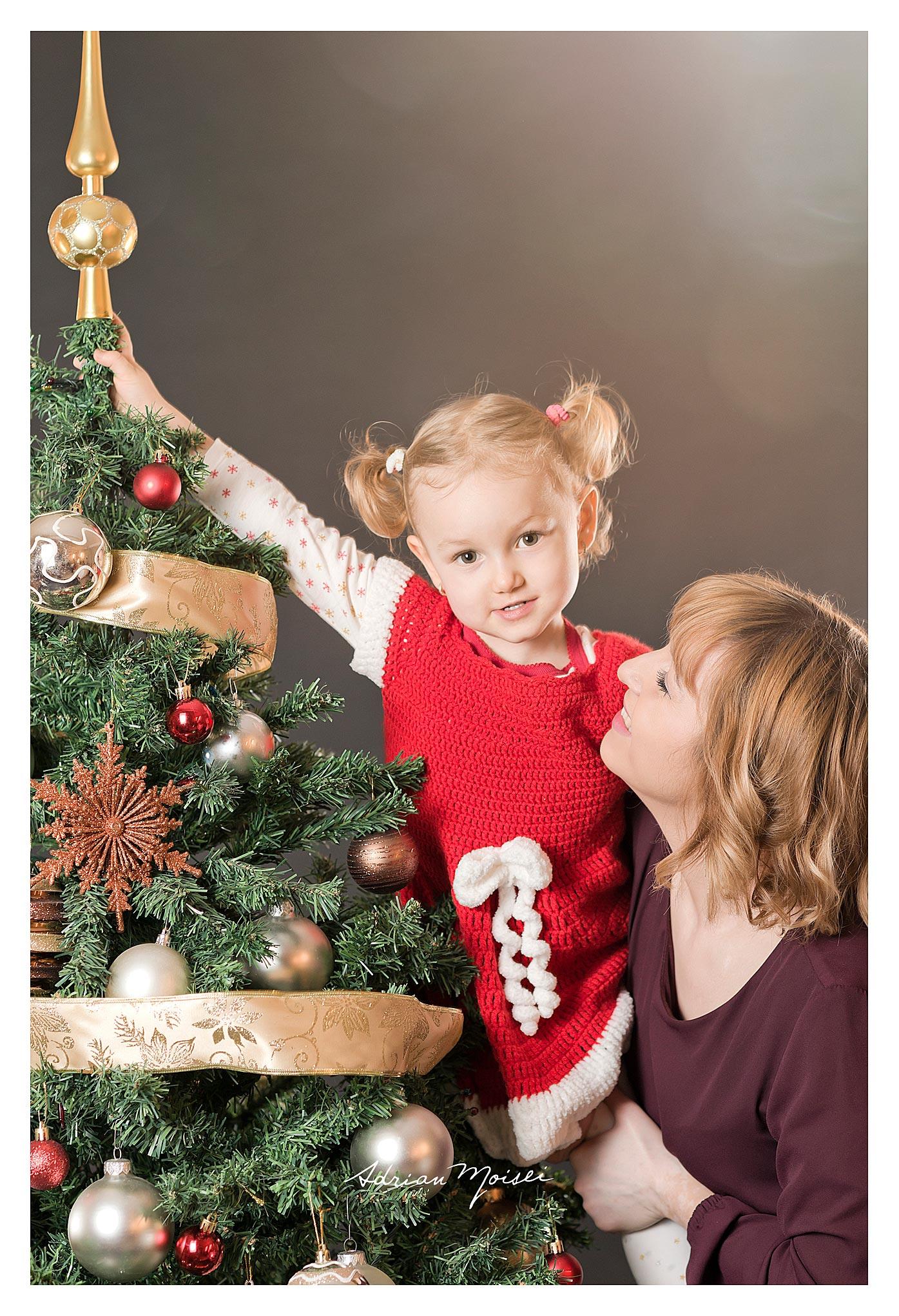Minisesiune foto de Crăciun fotografie de familie, Adrian Moisei.