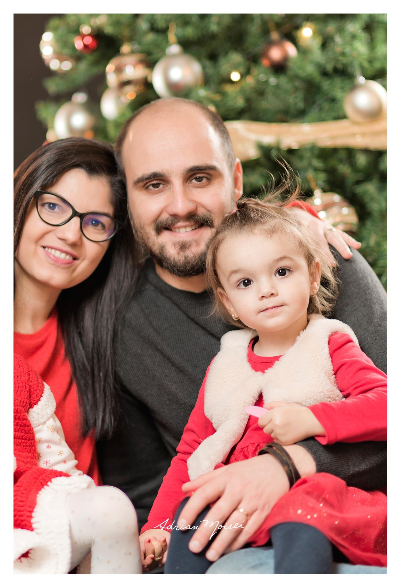 De Crăciun, fotografie de familie, Adrian Moisei fotograf.