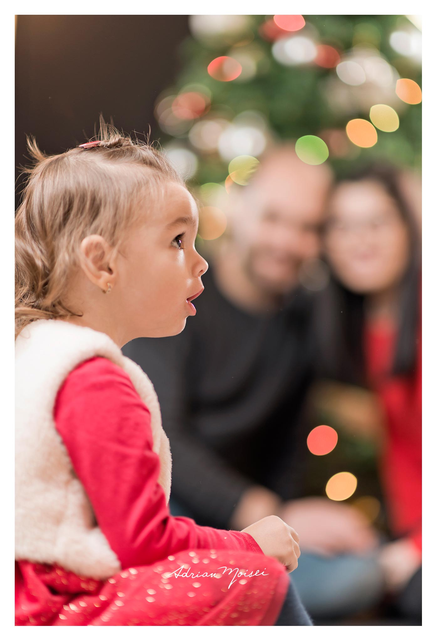 La doi anișori, de Crăciun, fotografie de familie, Adrian Moisei fotograf Iași.