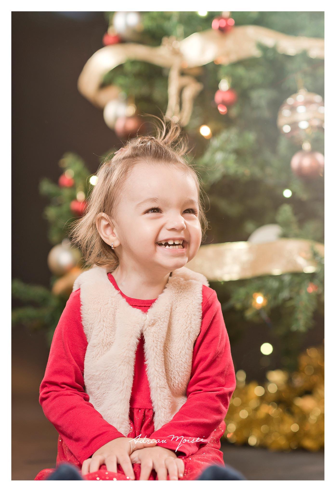 La doi anișori, de Crăciun, fotografie de familie, Adrian Moisei fotograf.