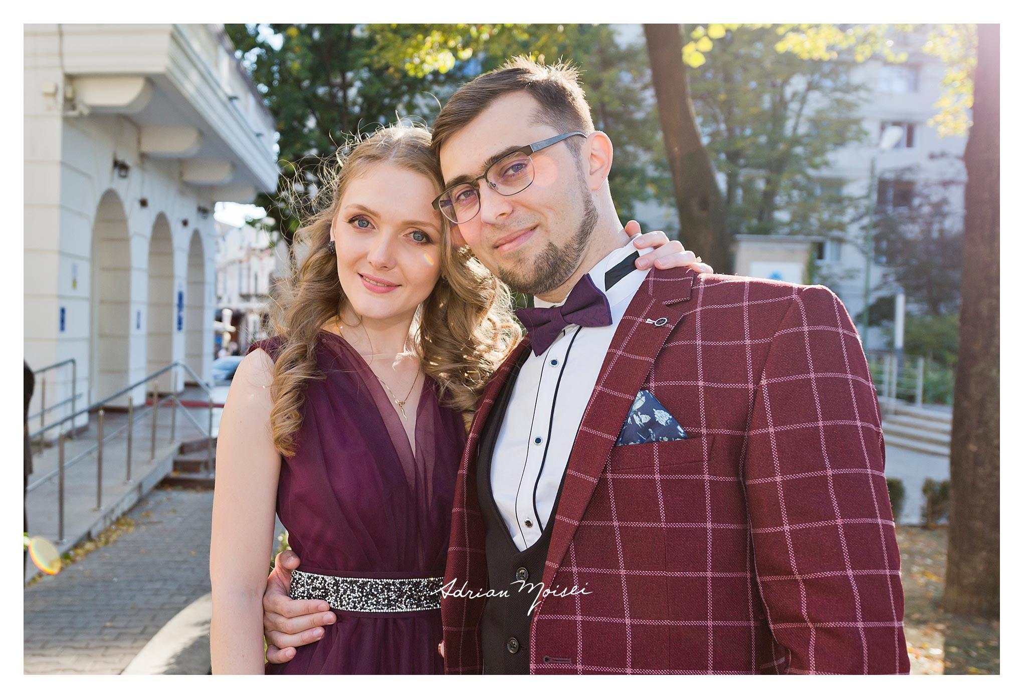 Fotograf cununie civilă realizată de fotograf nuntă Iași Adrian Moisei