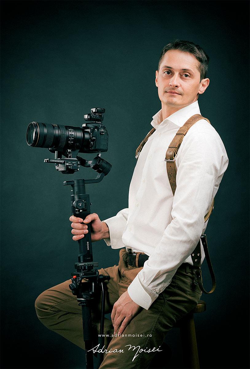 Adrian Moisei - Fotografie & Videografie de eveniment. Studio foto indoor-outdoor.