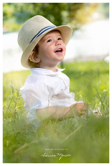 Zambete si fericire la aniversarea primului anisor