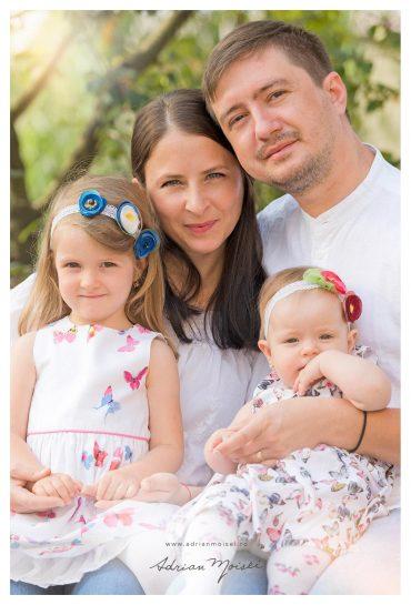 Prima zi de toamnă – fotografie de familie în Iași