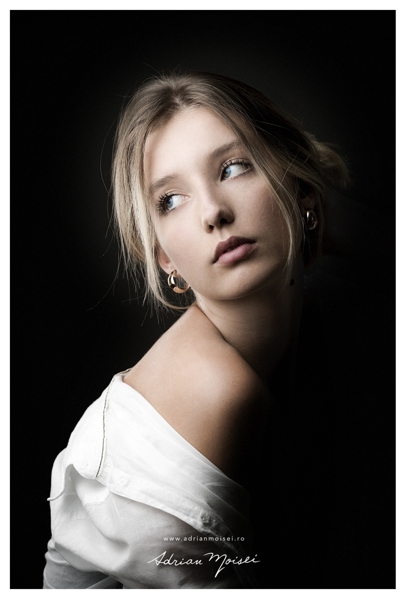 Fotograf fine art Iasi, fotograf fashion Iasi, artist fotograf Adrian Moisei - Donna D'oro