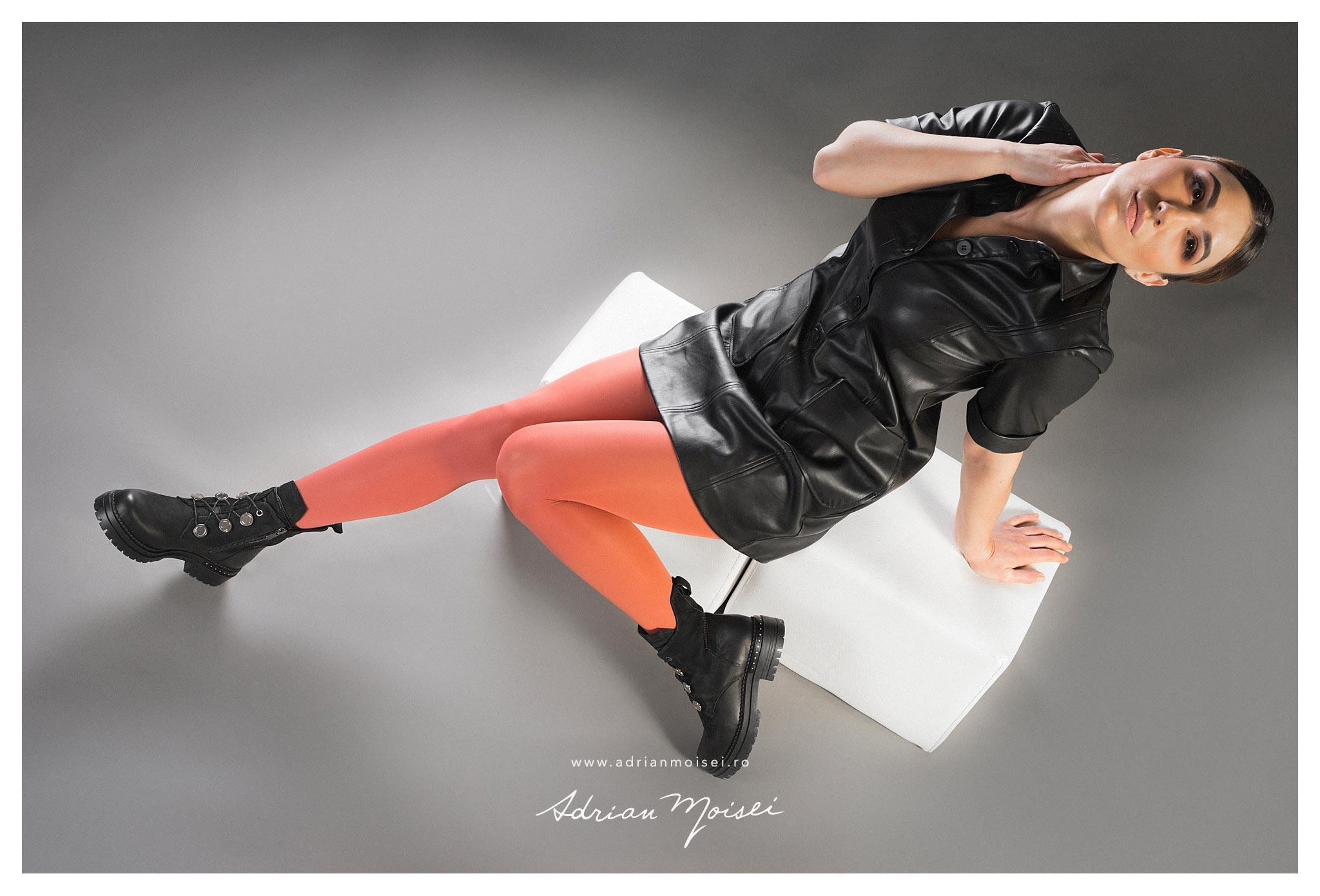 Fotograf fashion Iasi incaltaminte imbracaminte femei - Adrian Moisei fotograf Iasi