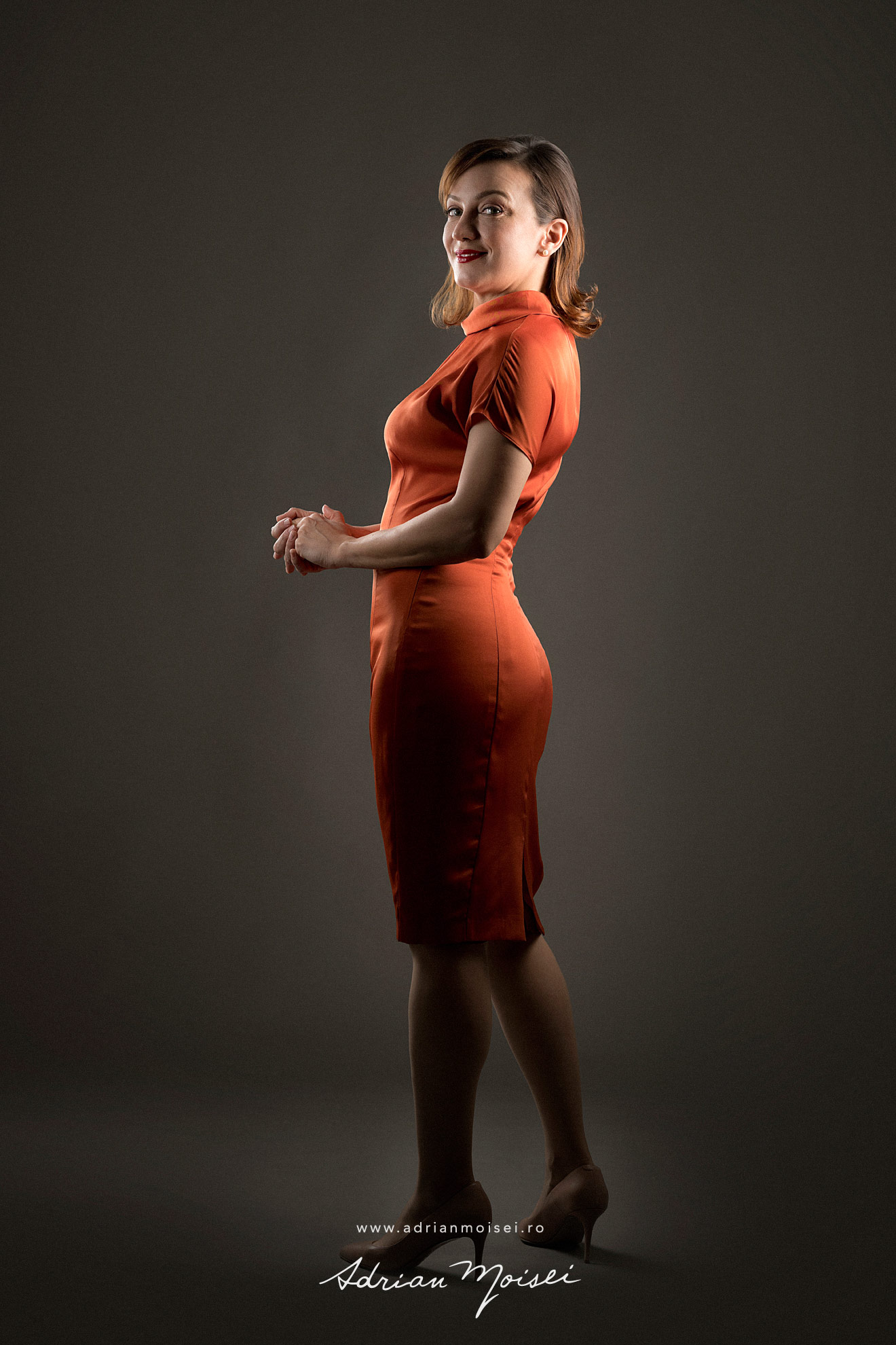 Fotograf studio Iasi, fotografie portret in Iasi, foto Adrian Moisei, Insotitor de bord, flight attendant