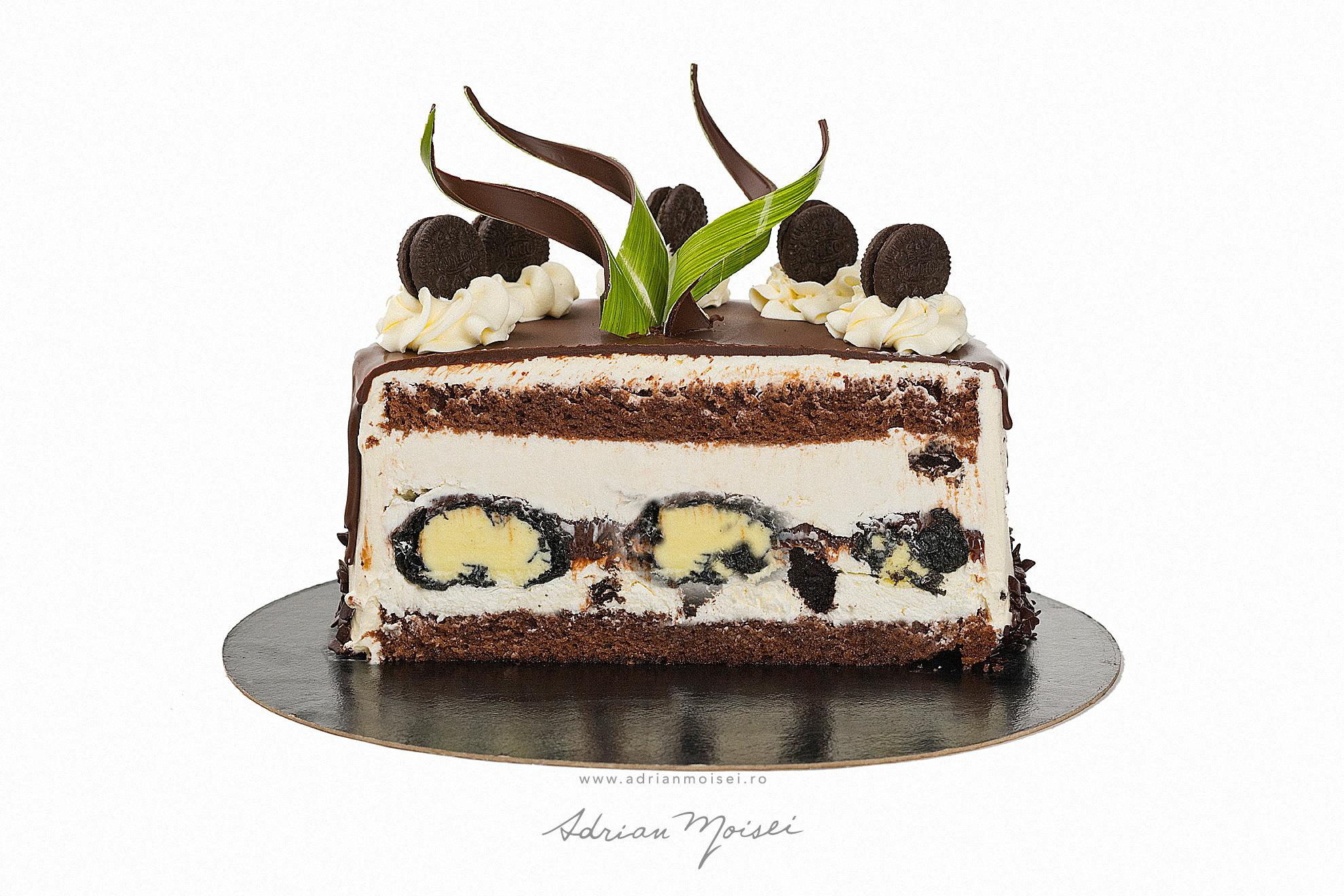 Tort Oreo ciocolata cofetaria Palibo fotograf de produs Iasi fotografie culinara Adrian Moisei