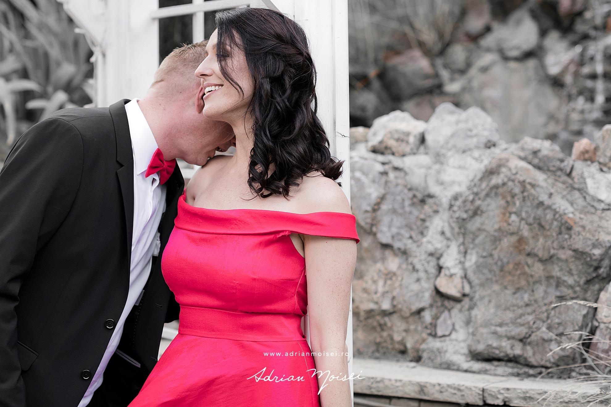 Fotograf nuntă Iași - ședință foto în grădina La Castel din Copou