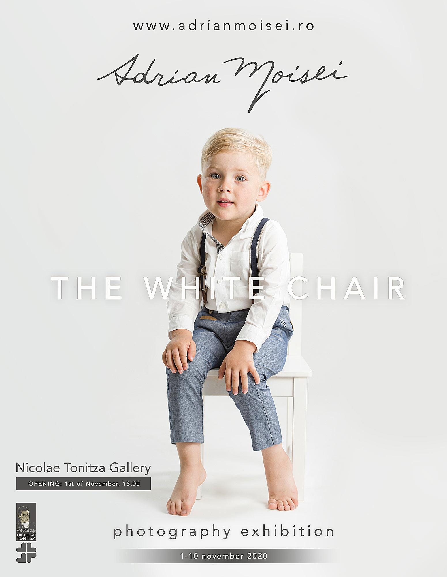 Artist fotograf Iasi - Adrian Moisei - expozitie de fotografie - The White Chair -
