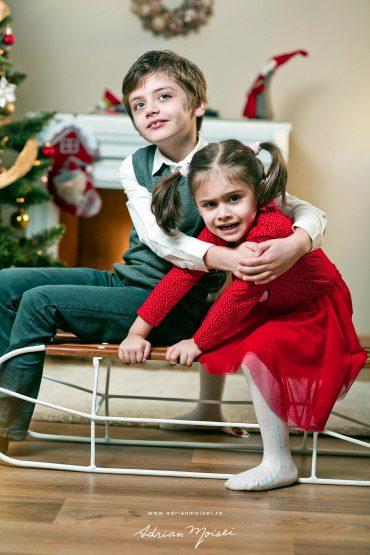 Christmas time – acasă de Crăciun – fotografii de Crăciun – studio foto video Iași