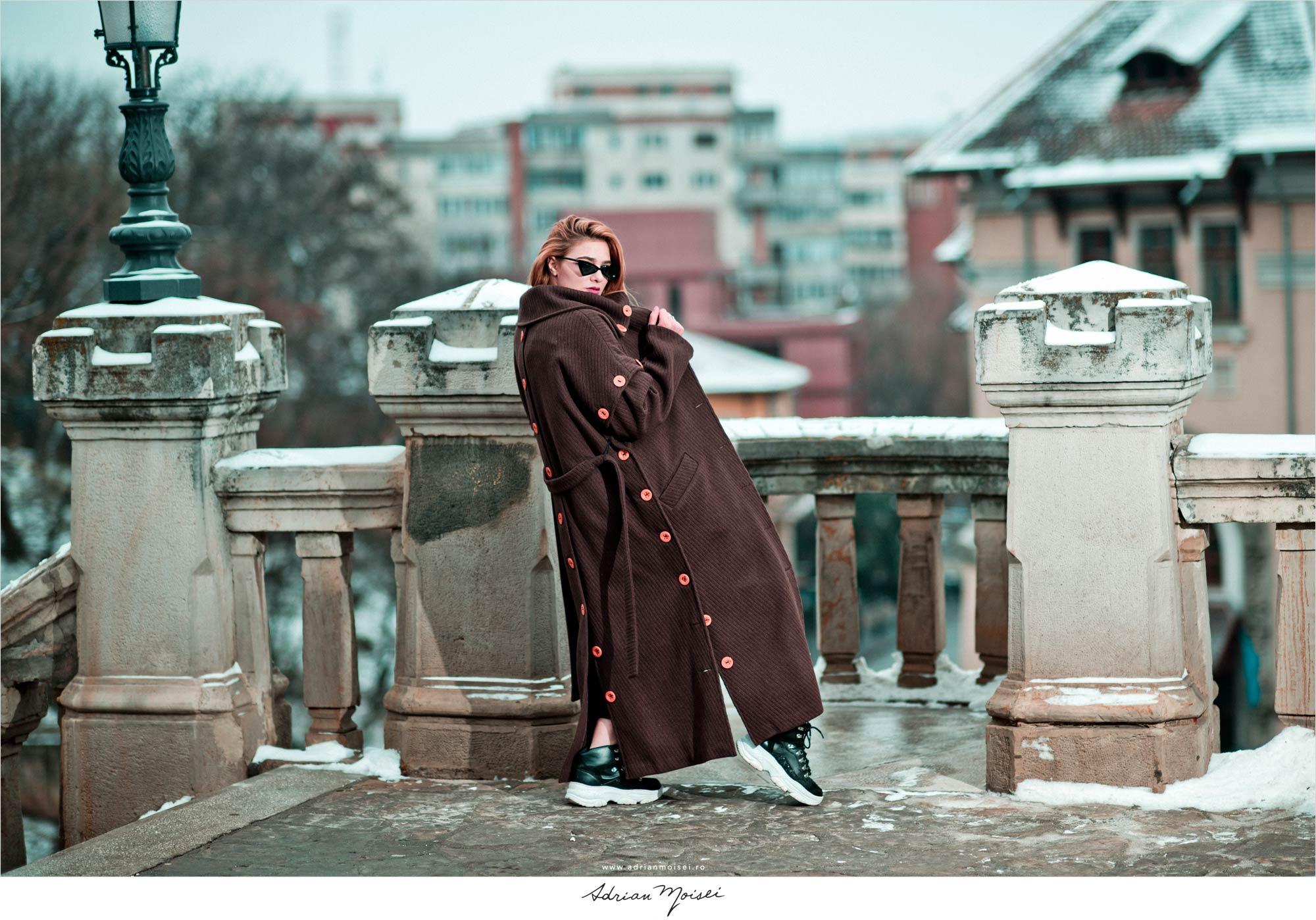 Fotografie realizata de fotograf fashion Iasi - Adrian Moisei - pentru Agness by MarySten