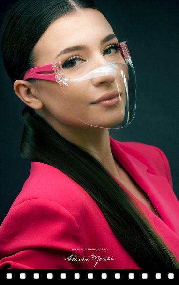 Allegra Mask Med mască transparentă de protecție, foto video produs Iași