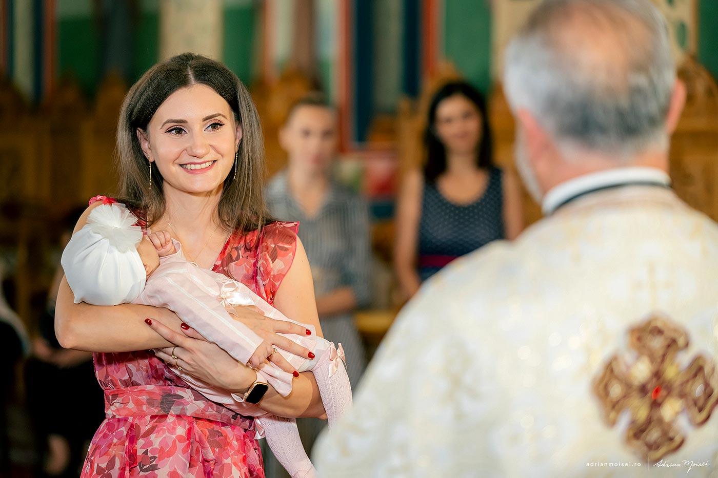 Fotograf botez Iasi la biserica sfantul Toma din Iasi