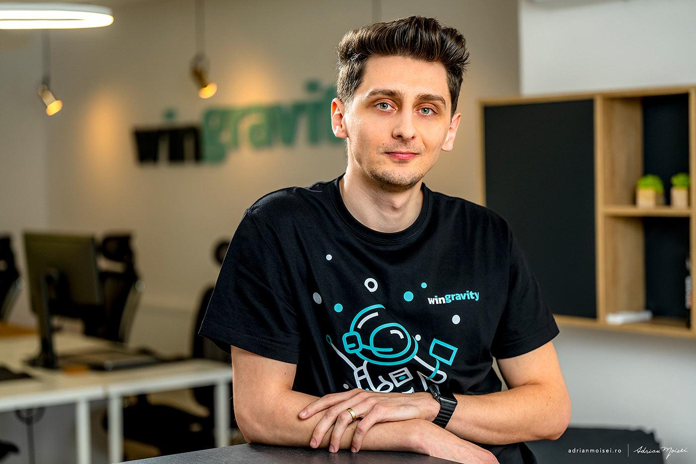 Daniel at WinGravity - the international full service product development company